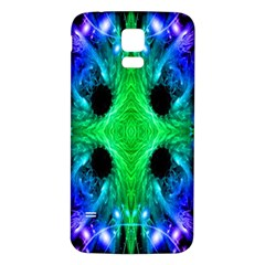 Alien Snowflake Samsung Galaxy S5 Back Case (white) by icarusismartdesigns