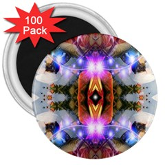 Connection 3  Button Magnet (100 Pack) by icarusismartdesigns