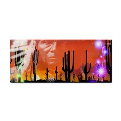 Ghost Dance Hand Towel by icarusismartdesigns