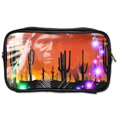 Ghost Dance Travel Toiletry Bag (two Sides) by icarusismartdesigns