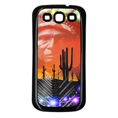 Ghost Dance Samsung Galaxy S3 Back Case (black) by icarusismartdesigns