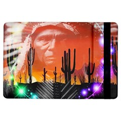 Ghost Dance Apple Ipad Air Flip Case by icarusismartdesigns