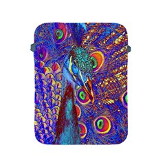 Peacock Apple Ipad Protective Sleeve by icarusismartdesigns