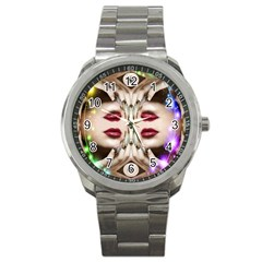 Magic Spell Sport Metal Watch by icarusismartdesigns