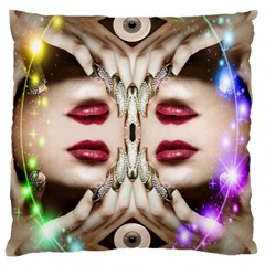 Magic Spell Large Cushion Case (single Sided)  by icarusismartdesigns