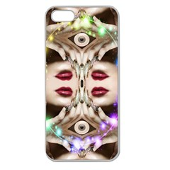 Magic Spell Apple Seamless Iphone 5 Case (clear) by icarusismartdesigns
