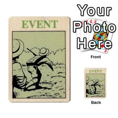 Lostworld By Michael W Hobby   Multi Purpose Cards (rectangle)   I5q4hazccl7m   Www Artscow Com Back 8