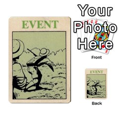Lostworld By Michael W Hobby   Multi Purpose Cards (rectangle)   I5q4hazccl7m   Www Artscow Com Back 9