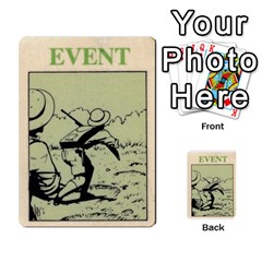 Lostworld By Michael W Hobby   Multi Purpose Cards (rectangle)   I5q4hazccl7m   Www Artscow Com Back 34
