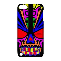 Skull In Colour Apple Ipod Touch 5 Hardshell Case With Stand by icarusismartdesigns