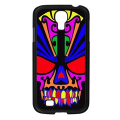 Skull In Colour Samsung Galaxy S4 I9500/ I9505 Case (black) by icarusismartdesigns