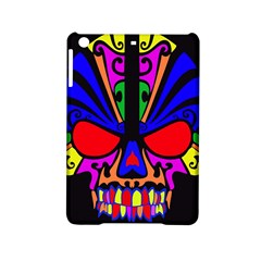 Skull In Colour Apple Ipad Mini 2 Hardshell Case by icarusismartdesigns