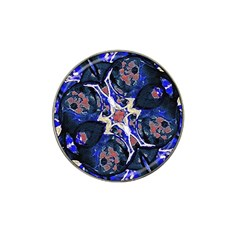 Decorative Retro Floral Print Golf Ball Marker 10 Pack (for Hat Clip) by dflcprints