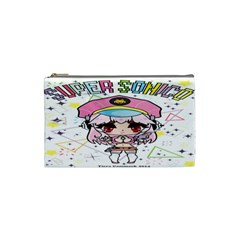 Super Sonico Small Bag By Ichigo Kuriimu Ryusei   Cosmetic Bag (small)   P0l866e0iext   Www Artscow Com Front