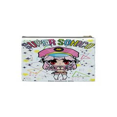 Super Sonico Small Bag By Ichigo Kuriimu Ryusei   Cosmetic Bag (small)   P0l866e0iext   Www Artscow Com Back
