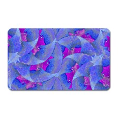 Abstract Deco Digital Art Pattern Magnet (rectangular) by dflcprints