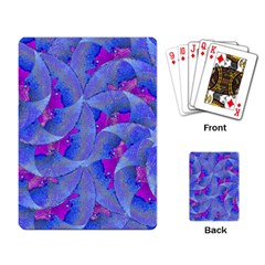 Abstract Deco Digital Art Pattern Playing Cards Single Design by dflcprints