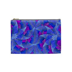 Abstract Deco Digital Art Pattern Cosmetic Bag (medium) by dflcprints