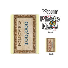 Credo   Deck 3 By Mike   Playing Cards 54 (mini)   M2530rjbk1fw   Www Artscow Com Front - Spade5