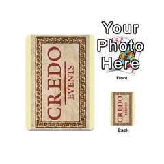 Credo   Deck 4 By Mike   Playing Cards 54 (mini)   Ve4h07uihd1k   Www Artscow Com Back