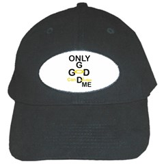 Only God Can Judge Me Black Baseball Cap by atldezigns