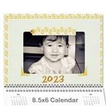 wall calendar 8.5 x 6 - Wall Calendar 8.5  x 6