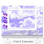 2015 Family quotes calendar - Wall Calendar 11  x 8.5  (12-Months)
