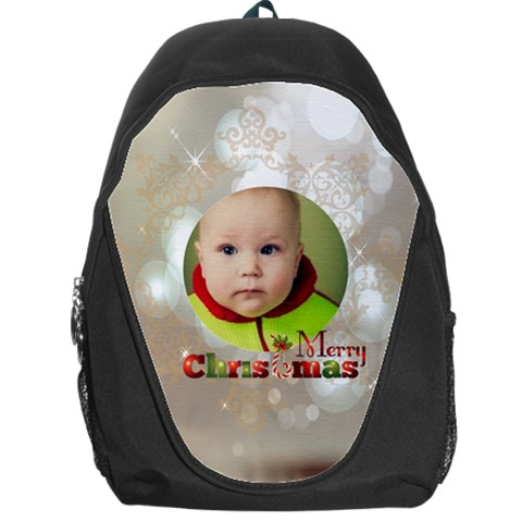 Xmas By Xmas   Backpack Bag   P035jej8dr9z   Www Artscow Com Front
