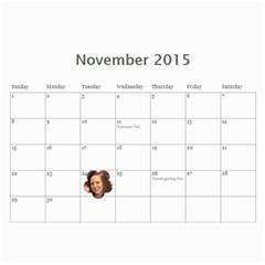 2015 Calendar Us By Kristi   Wall Calendar 11  X 8 5  (12 Months)   Ayaf333cbkmr   Www Artscow Com Nov 2015