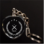 3d key chan - 3D Engraving Heart Key Chain