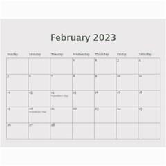 Wall Calendar 11 X 8 5 : Ranunculus Flowers By Jennyl   Wall Calendar 11  X 8 5  (12 Months)   6blofgrmmo14   Www Artscow Com Feb 2016
