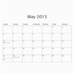 Kids By Kids   Wall Calendar 11  X 8 5  (18 Months)   Bou0euulkcbq   Www Artscow Com May 2015