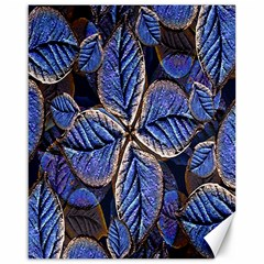 Fantasy Nature Pattern Print Canvas 16  X 20  (unframed) by dflcprints
