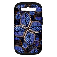 Fantasy Nature Pattern Print Samsung Galaxy S Iii Hardshell Case (pc+silicone) by dflcprints