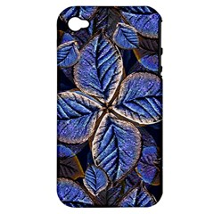 Fantasy Nature Pattern Print Apple Iphone 4/4s Hardshell Case (pc+silicone) by dflcprints