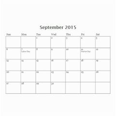 Kids By Kids   Wall Calendar 8 5  X 6    Ehdrm6013an6   Www Artscow Com Sep 2015