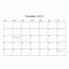 Kids By Kids   Wall Calendar 8 5  X 6    Ehdrm6013an6   Www Artscow Com Oct 2015
