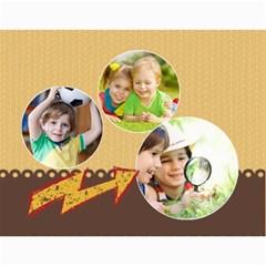 Kids By Kids   Wall Calendar 11  X 8 5  (12 Months)   Xtltici9nh7x   Www Artscow Com Month