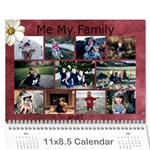 kyleigh - Wall Calendar 11  x 8.5  (18 Months)