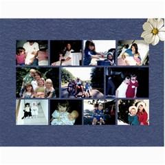 Kyleigh By Eden   Wall Calendar 11  X 8 5  (18 Months)   Qzz2pr0uv9d2   Www Artscow Com Month