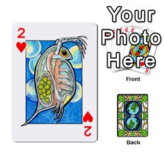 Animals Poker Set By Angela   Playing Cards 54 Designs   Xeb0lkicoas1   Www Artscow Com Front - Heart2