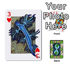 Animals Poker Set By Angela   Playing Cards 54 Designs   Xeb0lkicoas1   Www Artscow Com Front - Heart3