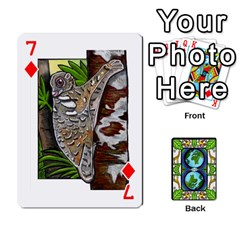 Animals Poker Set By Angela   Playing Cards 54 Designs   Xeb0lkicoas1   Www Artscow Com Front - Diamond7