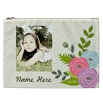 Cosmetic Bag (XXL): Ranunculus Flowers