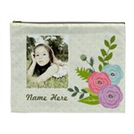 Cosmetic Bag (XL): Ranunculus Flowers