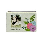 Cosmetic Bag (M): Ranunculus Flowers - Cosmetic Bag (Medium)