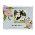Cosmetic Bag (XL): Ranunculus Flowers2