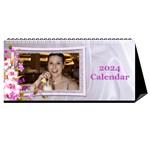 Pretty Floral Desktop Calendar - Desktop Calendar 11  x 5