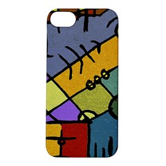 Multicolored Tribal Pattern Print Apple Iphone 5s Hardshell Case by dflcprints