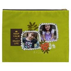 Cosmetic Bag (xxxl): Keep Calm By Jennyl   Cosmetic Bag (xxxl)   9q3vdvs9pe0b   Www Artscow Com Back